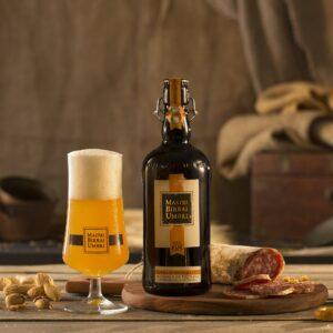 birra mastri birrai umbri cotta 68 con salumi