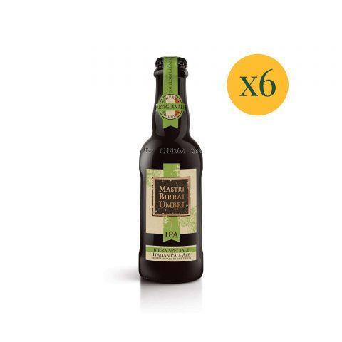 Birra in bottiglia cotta ipa confezione 6 birre