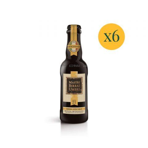 Birra in bottiglia cotta 21 confezione risparmio