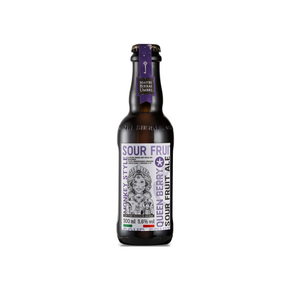 Birra Queen Berry Fruite Ale bottiglia 300ml